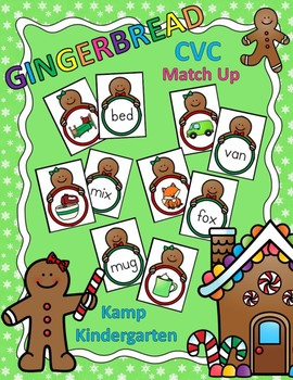 Gingerbread CVC Match Up