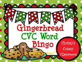 Gingerbread CVC Word Bingo