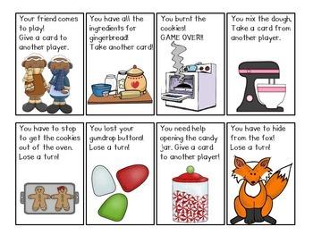 Gingerbread CVC Word Games