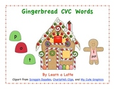Gingerbread CVC Words