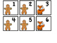 Gingerbread Calendar Numbers 1-30 With Editable Cards Included