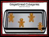 Gingerbread Categories for Speech Therapy