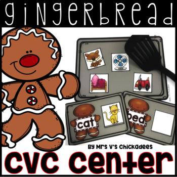Gingerbread Center: CVC Words