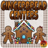 Gingerbread Centers Activities Christmas Centers Winter Math Literacy Rhyming