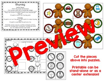 Gingerbread Centers