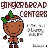 Gingerbread Centers: Math and Literacy