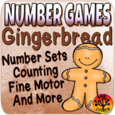 Gingerbread Centers Number Games Math Centers Christmas Activities