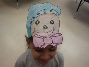 Gingerbread Character Hat