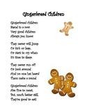 Gingerbread Children Poem