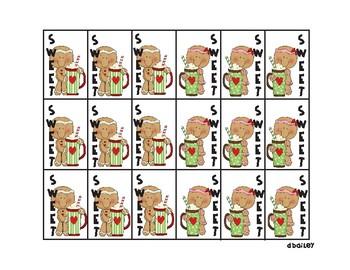 Gingerbread Christmas Brag Tags