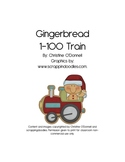 Gingerbread Christmas Number Train 1-100