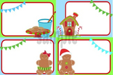 Gingerbread Christmas Task Card or Notecards