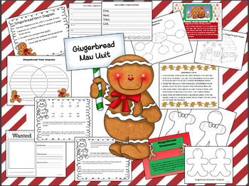 Gingerbread Christmas Unit
