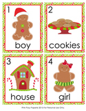 Gingerbread Christmas Write the Room