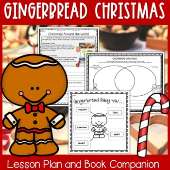 Gingerbread Christmas by Jan Brett Interactive Read Aloud Lesson Plan