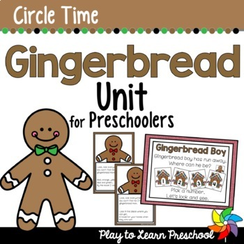 Gingerbread Circle Time Unit