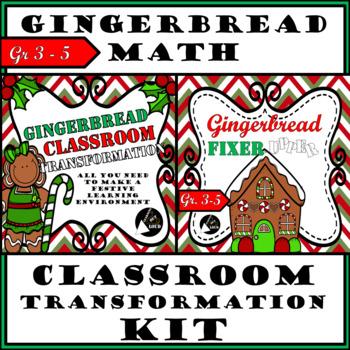 Classroom Transformation Kit Bundle - Gingerbread Edition