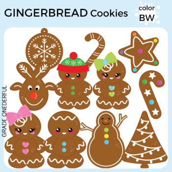 Christmas Cookies Clipart Gingerbread Man Clip Art