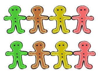 Gingerbread Clip Art and Templates
