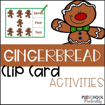 Gingerbread Clip Cards