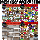 Gingerbread Clipart Bundle: Christmas Clipart {Creative Clips Clipart}
