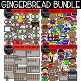 Gingerbread Clipart Bundle: Christmas Clipart {Creative Cl