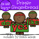 Gingerbread Clipart - Primer Sight Word Clip art  {Jen Har