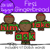 Gingerbread Clipart - First Sight Word Clip art  {Jen Hart