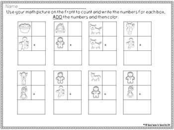 Gingerbread * Color, Count, Tally & Do- Instant and Interactive Math