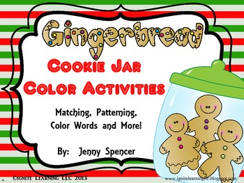 Gingerbread Color Fun