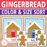Gingerbread Activities | Gingerbread Man Color Match and S