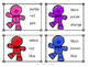 Gingerbread Color Sight Word Clip Cards