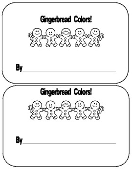 Gingerbread Color Word Pack
