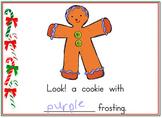 Gingerbread Color words for Promethean Board