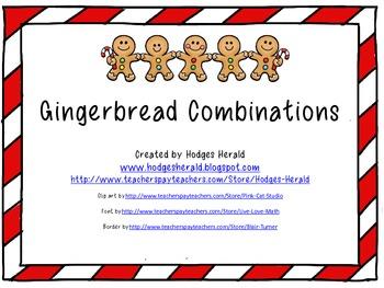 Gingerbread Combinations