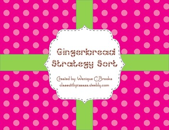 Gingerbread Common Core Math Activities and Centers