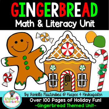 Gingerbread Common Core Math & Literacy Unit