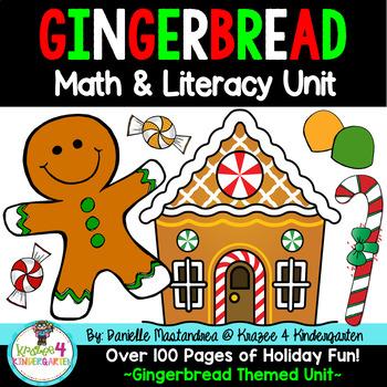 Gingerbread Common Core Math & Literacy Unit
