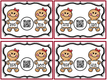 Gingerbread Compare!! (QR Code Fun)