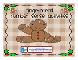 Gingerbread Comparing Numbers