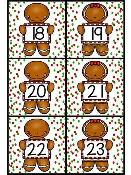 Gingerbread Comparing Numbers: Greater Than and Less Than Game