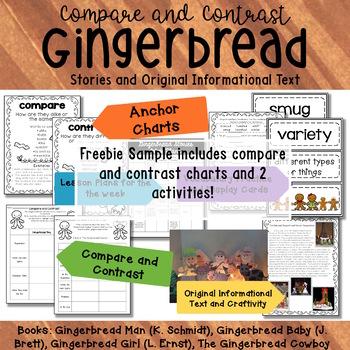 Gingerbread Comparison Chart
