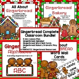 Gingerbread Complete Classroom Bundle for Preschool, PreK, K & Homeschool