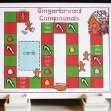 Gingerbread Compound Word Game