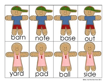 Gingerbread Compound Words