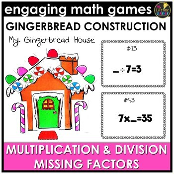 Christmas Missing Factors Game