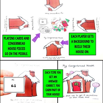 Christmas Subtraction Facts Game