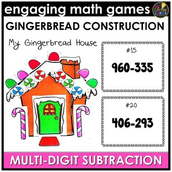 Christmas Multi-Digit Subtraction Game