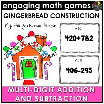 Christmas Multi-Digit Addition and Subtraction Game