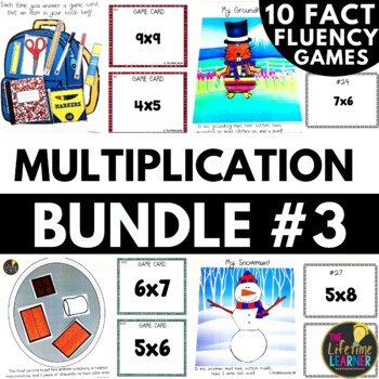 Christmas Multiplication Facts Game